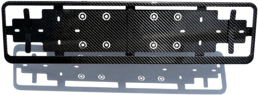 real carbon fiber license plate holder high-quality noble sporty elegant
